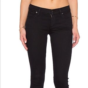 Citizens of Humanity Avedon skinny black jeans- 24